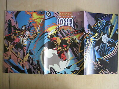 BATMAN , SWORD of AZRAEL : COMPLETE 4 ISSUE DC 1992 SERIES by O'NEIL & QUESADA