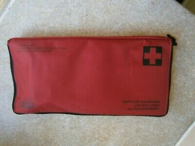 Genuine AUDI First Aid Kit Zipper Pouch
