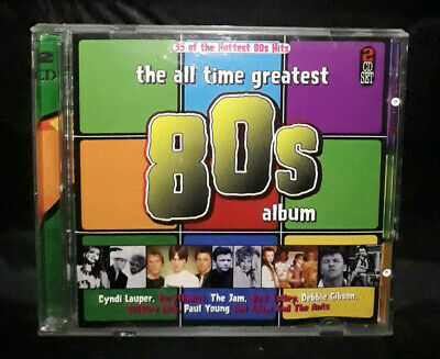 The All Time Greatest 80s Album - 2 Disc Set - Various Artists (CD Album)