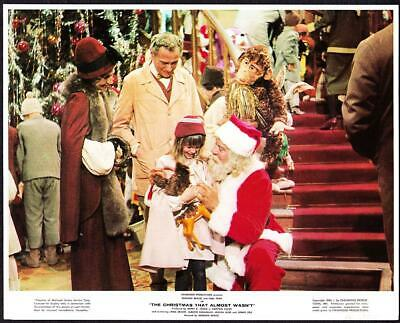 Christmas That Almost Wasn T.Christmas That Almost Wasn T Vintage 1966 Movie Color Litho Promo Photo 1