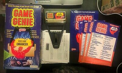Game Genie Video Game Enhancer for Nintendo NES Complete in Box w/ Code Updates