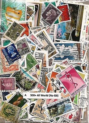 500+ Worldwide Bumper Stamp Packets - Choose from Drop-down List