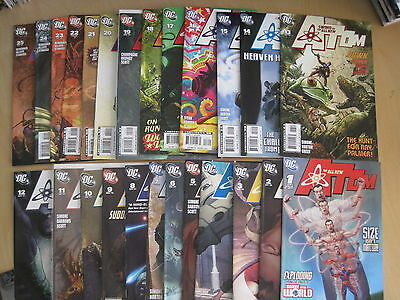 The ALL NEW ATOM : COMPLETE 25 ISSUE SERIES by SIMONE, JOHN BYRNE etc.DC.2006
