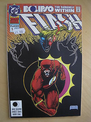 The FLASH  : ANNUAL #  5 : The DARKNESS WITHIN. ALL FLASH.1st  PRINT.DC.1992