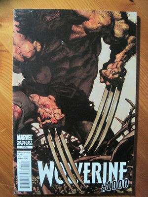 WOLVERINE 1000 : set of REGULAR + VARIANT EDITIONS. 80 page GIANT. Marvel. 2011