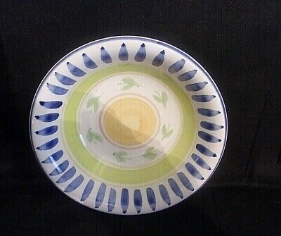 """Gibson Housewares 8 1/4""""  MULTI-COLORED CEREAL/SOUP BOWL"""
