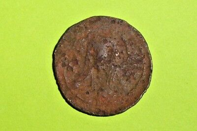 Nicephorus III ancient BYZANTINE COIN cross JESUS CHRIST rare christian treasure