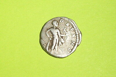 Septimius Severus 193 AD ancient ROMAN SILVER COIN hercules bow club VG treasure