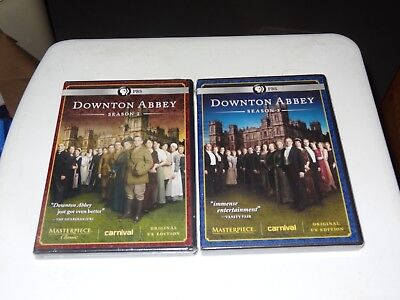 Masterpiece Classic: Downton Abbey, Season 2 & 3, BRAND NEW SEALED DVD