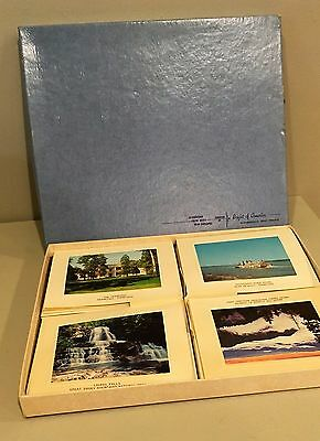 Vtg Greeting Note Card Nashville Lookout Smoky Mountains Tennessee Souvenir