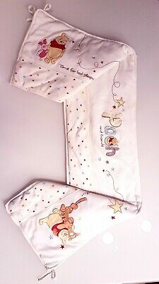 Disney  baby cot  bumper and two  tops  set