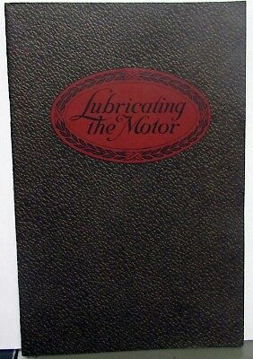 1913 Dixons Automobile Lubricants Information Sales Brochure Graphite Grease Oil