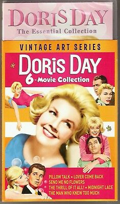 Doris Day 6-Movie Collection DVD Vintage Art Series BRAND NEW