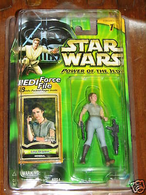 Leia Organa (General) - Star Wars Power of the Jedi  2000**Star Wars**  UNOPENED