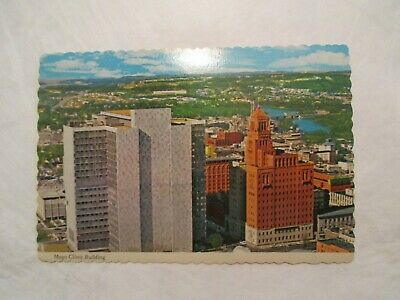 1973 MAYO CLINIC Buildings Rochester Mn Vintage Postcard