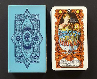 Vintage Oracle of Sibyl Sibilla Sibylle Fortune Telling Cards Tavaglione 1980