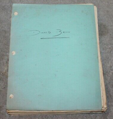 Vintage Rare Pan Am Boeing B-377 Stratocruiser Maintenance/Training Manual 1948