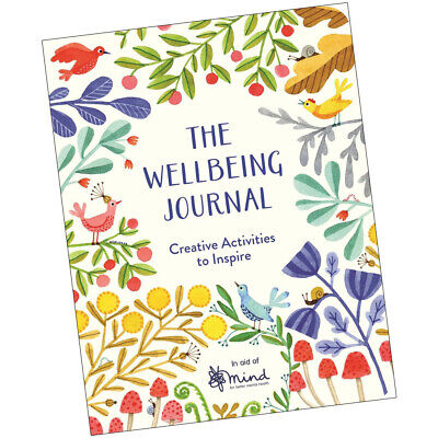 Wellbeing Journal: Creative Activities to Inspire  9781782438007 NEW book