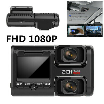 """Car DVR 2"""" Front Dual Dash Cameras Adjust With GPS Function Wifi Video Recorder"""