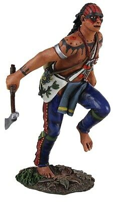 Britains 50054C, Eastern Woodland Indian Running with Tomahawk No.1 Club Figure