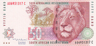 SOUTH AFRICA P.125c - 50 Rand ND 1999 UNC