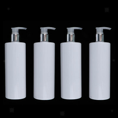 10x Large Cosmetic Bottles Shampoo Empty Lotion Container Pressed Pump Bottle