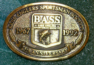 BASS 25th Anniversary Belt Buckle - 1992 - New, Mint