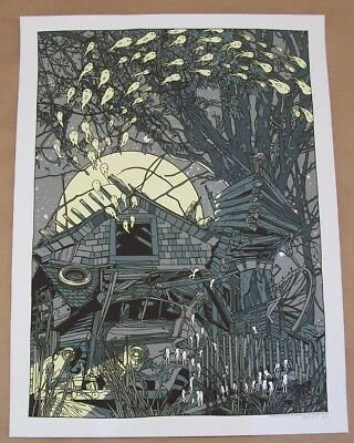 Tyler Stout Migration II The Spawning Limited Edition Screen Print Serigraph
