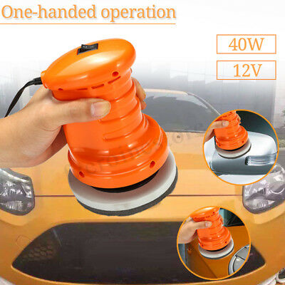 12V Car Polisher Buffer Waxer  Electric Orbital Motion Polishing  UK