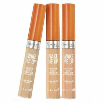 RIMMEL Wake Me Up Anti-Fatigue Concealer 7ml - CHOOSE SHADE - NEW