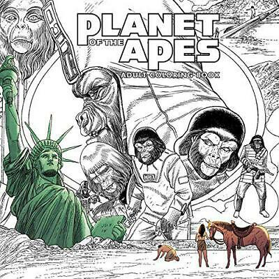 Planet of the Apes Adult Coloring Book (Colouring Books) by , NEW Book, FREE & F