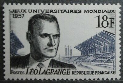 1957 FRANCE TIMBRE Y & T N° 1120 Neuf * * SANS CHARNIERE