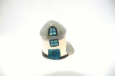 Thimble Handcrafted & Painted Merryfield Pottery Boathouse Cottage