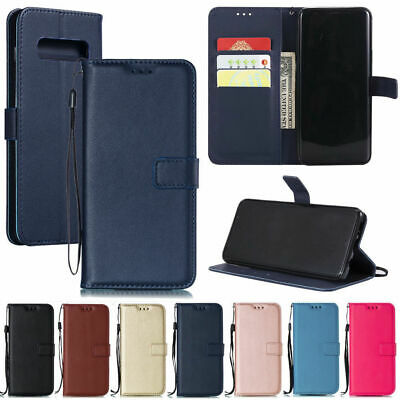 For Samsung S10 Plus Case S10e Deluxy Magnetic Leather Card Holder Stand Cover