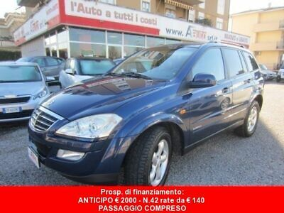 SSANGYONG Kyron New Kyron 2.0 XVT 4WD Style -UniPropriet.-68000 Km