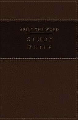 Apply the Word Study Bible : New King James Version, Brown, Imitation Leather...