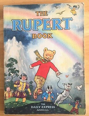 RUPERT ORIGINAL ANNUAL 1948 with Origami Made! VG PLUS.