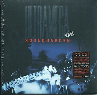 Soundgarden - Ultramega Ok Expanded, Remix, Remast Gfc Mini-Jkt Sub Pop Seald Cd