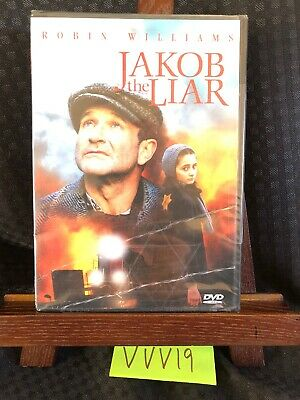 Jakob the Liar (DVD 2000 RARE WAR DRAMA ROBIN WILLIAMS BRAND NEW! FREE SHIPPING!