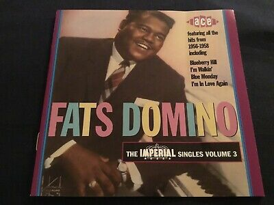 FATS DOMINO THE IMPERIAL SINGLES VOL 3 CD ALBUM OUR ref 1433