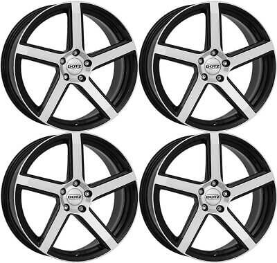 4 Dotz CP5 dark wheels 7.0Jx16 4x108 for CITROEN C2 C3 C4 C5 C-Elysee DS3 DS4 DS