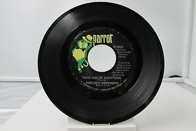 """45 Record 7""""- Engelbert Humperdinck - There Goes My Everything"""