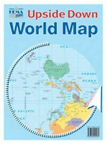 The Kiwi Upside Down World Map von Hema Maps | Buch | Zustand gut
