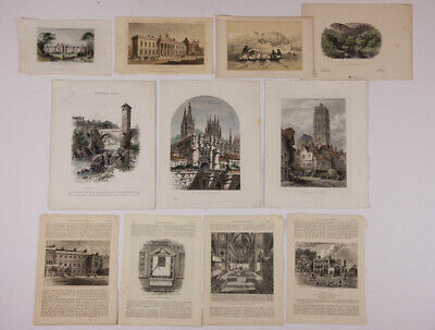 Large Batch of 19th Century Prints - Lithographs and Bookplates
