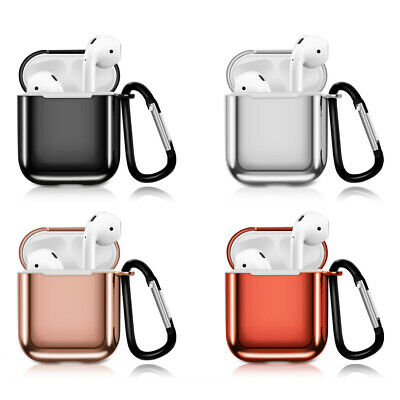 AirPods Case Silicone Cover Plating TPU Charging Skin Protective for Airpod