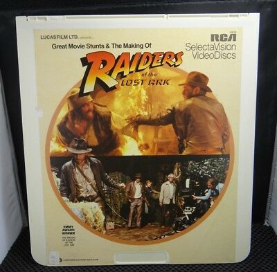 CED Capacitance Electronic Disc - Raiders of the Lost Ark - Great Movie Stunts &