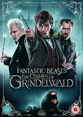 Fantastic Beasts: The Crimes of Grindelwald DVD [2019] - Brand New & Sealed UK