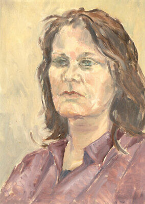 Hazel Bruce Dunlop (1911-2005) - Signed 20th Century Oil, Portrait of Rosemary