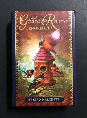 2013 Edition Gilded Reverie Lenormand Oracle Cards Ciro Marchetti GERMAN ISSUE