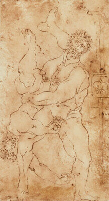 Inge Clayton FRSA (1942-2010) - 1987 Etching, Hercules and Diomedes, After Rossi